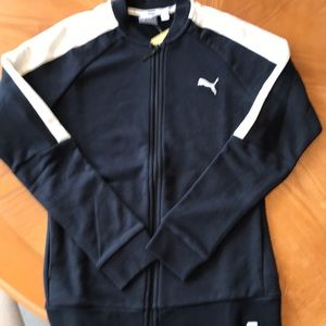 Puma size Small Zip-Up Track Jacket